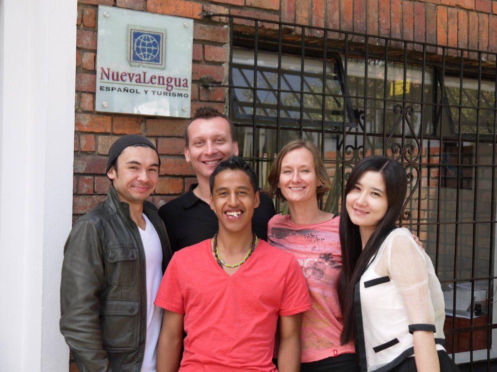 Sede Bogotá Nueva lengua cursos de español Colombia
