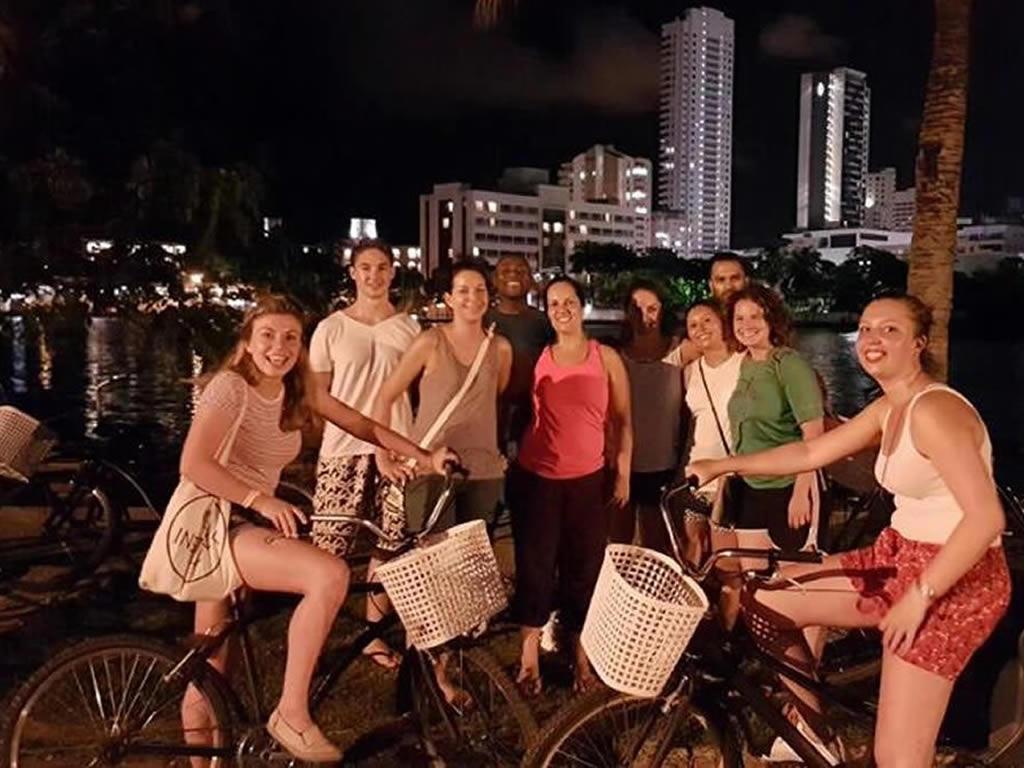 תלמידי טיולי אופניים בית ספר ספרדי Nueva Lengua קרטחנה